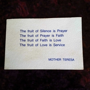 From St. Mother Teresa to Our Lady of Knots